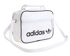 adidas Originals Mini Airliner Vintage Cross Bag White Trefoil School Bag  DH1005  adidas  MessengerShoulderBag 70d6efd6ea0a7