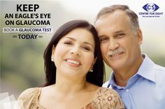 Are you above the age bar of 40 years? Book a Glaucoma Test today, be educated and be aware. Visit: http://www.centreforsight.net/