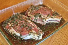Best Steak Marinade 1/3 cup soy sauce 1/2 cup olive oil 1/3 cup lemon juice 1/4 cup Worcestershire sauce 1 1/2 tsp garlic powder 3 Tbsp dried basil 1 1/2 Tbsp dried parsley flakes 1 tsp ground pepper 1 tsp fresh minced garlic (2 cloves) Marinate steaks 4-12 hours. Grill.