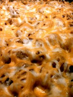"""Tator Tot Casserole! 4.46 stars, 145 reviews. """"This was really easy and everyone enjoyed it. I added some garlic, spicy taco seasoning, cumin, and corn."""""""