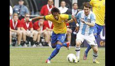 FOTOS: la magia de Lionel Messi en el triunfo de Argentina sobre Brasil