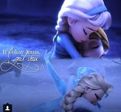 "Frozen❤ Oh my goodness, the opening sequence with the young Anna and Elsa, I was like ""Five minutes and I'm already emotionally doomed."""