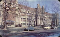 Formerly Bloomington High School Illinois later it was the junior high. Bloomington Illinois, Modern Gothic, Abandoned Property, State Farm, Route 66, Storyboard, Lincoln, Schools, The Neighbourhood