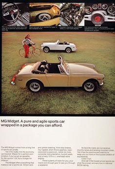 1973 MG Midget ad