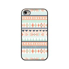 Tribal Iphone case  blue tribal pattern iphone case for Iphone 4 4s 5 and 5s by RetroLoveCases, $16.95