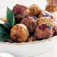 These stuffing balls are perfect for a Thanksgiving appetizer, dinner parties, pot lucks and holiday parties. If you are looking for an alternative...