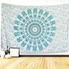 Mandala Tapestry Elephant Tapestry Wall Hanging Wall Tapestry Elephant Decor Bohemian Tapestry Hippie Decor Bohemian Decor Indian Tapestry For Home Decor (M51.2'X59.1', 2-) ** Want to know more, click on the image. (This is an affiliate link) #Tapestries