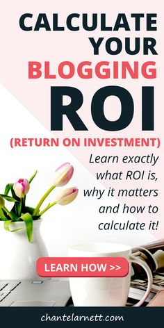 """All the """"make money blogging tips"""" in the world won't help if you don't understand how to calculate your #blogging return on investment. If you really want to make money blogging, learn how to calculate ROI and make sure you don't just have an expensive hobby! #bloggingtips #makemoneyblogging #makemoneyonline"""