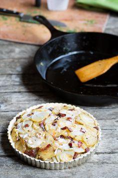 How To - Irish Potato Pie #irish #stpaddysday #potatoes