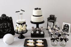 Halloween, Sweet Table, Dekoration,