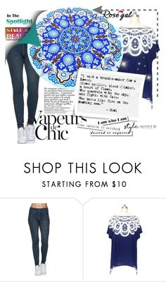 """""""Chic"""" by difen ❤ liked on Polyvore featuring Anja"""