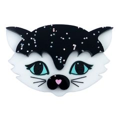 Decorate your dear self with limited edition brooches and fabulous laser cut finery made to gussy up your garb. Delightfully designed and handmade in Melbourne by Louisa Camille Sadie, Minnie Mouse, Jewelery, Disney Characters, Fictional Characters, Kittens, Stars, Handmade, Brooches