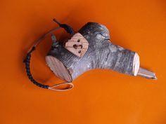 Bottone fatto a mano, in legno massello.Creazioni Sandro