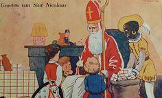 Sinterklaas ansichtkaart