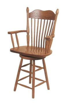 Amish Lancaster Turned Leg Barstool Gorgeous country style. Hop up to the counter or bar to enjoy a hot breakfast and fresh coffee. Choice of counter or bar height as well as wood and finish color.