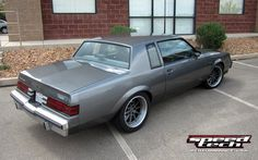 """Regal T-Type has a LSX 454 and Speedtech Performance's """"Track Time"""" suspension package. Buick Grand National, Buick Gmc, Buick Regal, Chevy Chevelle, Car Memes, Pontiac Firebird, Performance Cars, American Muscle Cars, Car Pictures"""