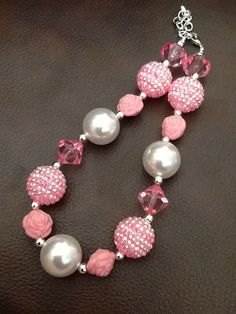 Children's Chunky Beaded Necklace