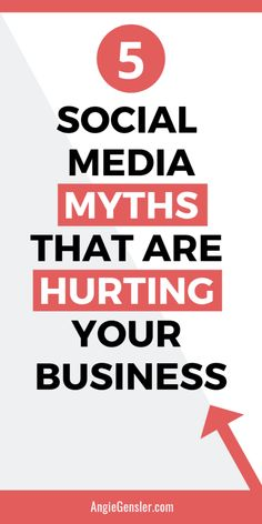 5 Social Media Myths That are Hurting Your Business (And the 5 Truths You Need to Know Instead). 5 Social Media Myths That are Hurting Your Business (And the 5 Truths You Need to Know Instead). Social Media Content, Social Media Tips, Social Media Marketing, Content Marketing, Marketing Strategies, Business Tips, Online Business, Creative Business, Twitter Tips