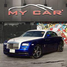 "Instagram media by mycarjeddah - Completed,,#RollsRoyce #Wraith # To # "" white Pearl "" hood,roof,trunk ,,, #wrap #cars #jeddah #fast #luxury #exotic #2017 # @Mycarjeddah"