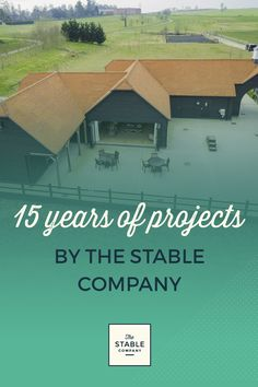 2017 marks 15 years of The Stable Company! Click through to view 15 special projects - from an equestrian stable to a helicopter hangar, from a primary school classroom to a bespoke garage!