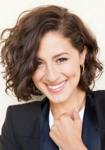 Cute Messy Short Wavy Curly Hairstyle