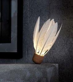 Federlampe