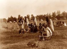 Cheyenne Indian Braves. The photo is by Curtis, and was taken in 1910.