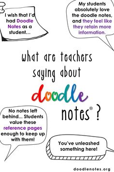 Did you know Doodle Notes is on Instagram? Follow @doodlenotemethod to learn new tips, tricks, and research behind this engaging method!