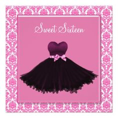sweet 16 party invitations - Google Search