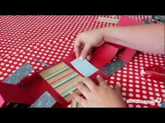 How to Make a Shutter Mini Album  #papercrafts video. Made by marzipan. Fabulously clear instructions!