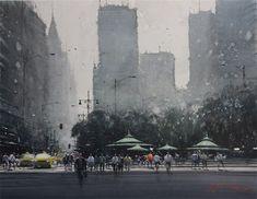 Quanhua Watercolour Art Gallery - Joseph Zbukvic, New York