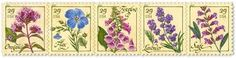 U.S. Herb Stamps ~ release date 7 April 2011 ~ have