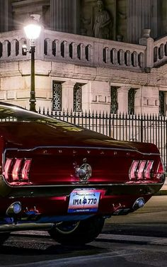 1967 Ford Mustang GT somewhere in Mexico.