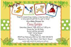 Lion King Baby Shower Invitation by jennya309 on Etsy, $9.00
