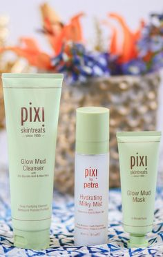 The new @pixibeauty skincare line is absolutely fabulous. The Glow Mud Mask is my fav!
