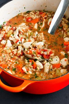 Chicken Barley Stew...A healthy comfort food recipe for any time of the year!