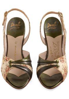 Vintage Reserve Nadine Heel   Mod Retro Vintage Heels   ModCloth.com