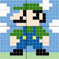 Luigi - Stitch Fiddle