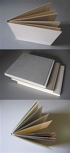 THE GRONINGER BINDING. This binding, by Cor Aerssens, responds to the need to make a book w/ a full cardboard binding. A bald plain book, with no need for a covering, so beautiful in its simplicity. It must be able to function as a perfect book w/o the covering of leather, bookcloth, or paper. One of the features of the Groninger Binding is part-integration of the 2 boards with the book block, eliminating the need to affix the block w/ endpapers. The book becomes the band, the band is the…