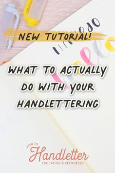 Handlettering is fun, yes... but it's also SO USEFUL. Here are some of my favorite ways to take my handlettering from a hobby to a skill that helps me in my everyday life! Learn to letter with Suzy Grace of How to Handletter #handletteringtips #printables #handletteringtutorials #handletteringvideos Lettering Styles, Brush Lettering, Hand Lettering, Printable Letters, Printable Worksheets, Printables, Tombow Brush Pen, Calligraphy For Beginners, Handwritten Letters