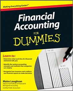 Amazon ❤ Financial Accounting For Dummies: Maire Loughran: 9780470930656: Amazon.com: Books