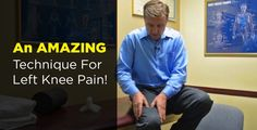 #HealthyLivingTips How to Fix Knee Pain Fast - REALLY WORKS! #NaturalCure #Health