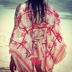 """""""We #love this new #kaftan top - a new style for 2015, so wearable! #beachwear"""""""