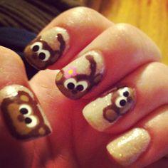 monkey nail design more nails monkey design tutorial nail designs art ...