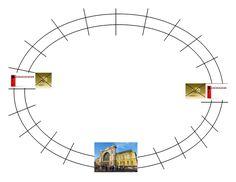 Egyszerű, lépkedős, vonatos társasjáték - auti.hu Art, Art Background, Kunst, Gcse Art, Art Education Resources, Artworks
