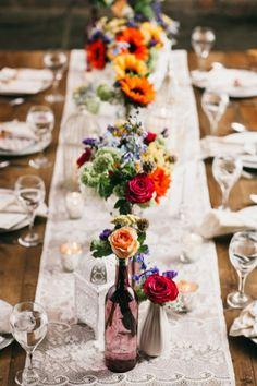 100 Bohemian Wedding Table Settings Inspiration (167)