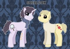 My little Sherlock. (Pony/Sherlock Cross over). Sherlock Fandom, Sherlock Holmes, Mlp, Mrs Hudson, Sherlolly, Cartoon Crossovers, Moriarty, Johnlock, Geek Out