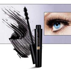 De innovatieve vorm van het borsteltje zorgt ervoor dat de mascara van wortel tot eind kan worden aangebracht. www.ritaderudder.be