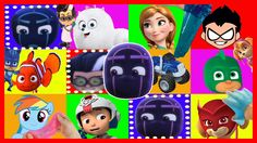 Romeo Game PJ Masks - Surprise Eggs Paw Patrol Frozen Peppa Pig My Little Pony Teen Titans Go with Sparkle Spice. Subscribe here to never miss a video: https://www.youtube.com/channel/UCsRW8ikkc-uISUXtNKBfFcw?sub_confirmation=1 - Watch my last video: https://youtu.be/ohzghjkjWTE Lets Play The Romeo Game from PJ Masks again and open Play-doh surprise eggs with toys from Paw Patrol Frozen Peppa Pig Spiderman Teen Titans Go Crusher from Blaze and the monster machines Thomas the train Finding…
