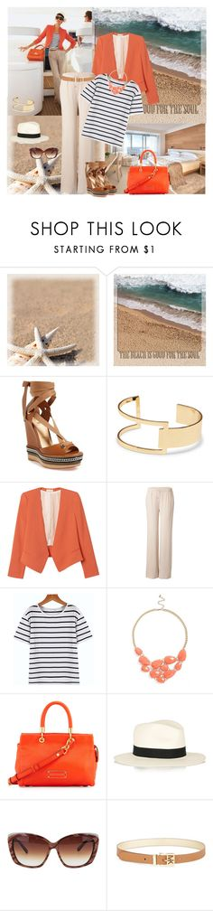 """Beach Good Soul"" by allysha-fa ❤ liked on Polyvore featuring Christian Louboutin, Sole Society, Rebecca Taylor, Maison Margiela, BP., Marc by Marc Jacobs, rag & bone and MICHAEL Michael Kors"